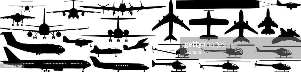 Aircraft : stock illustration