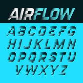 Airflow alphabet