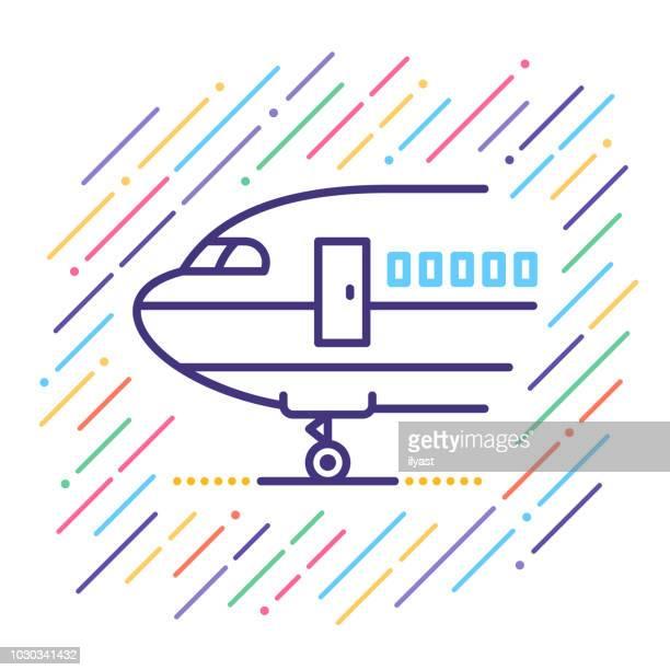 Airline Line Icon