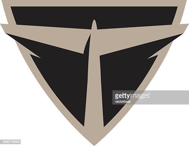 airline-logo - flugzeugheck stock-grafiken, -clipart, -cartoons und -symbole