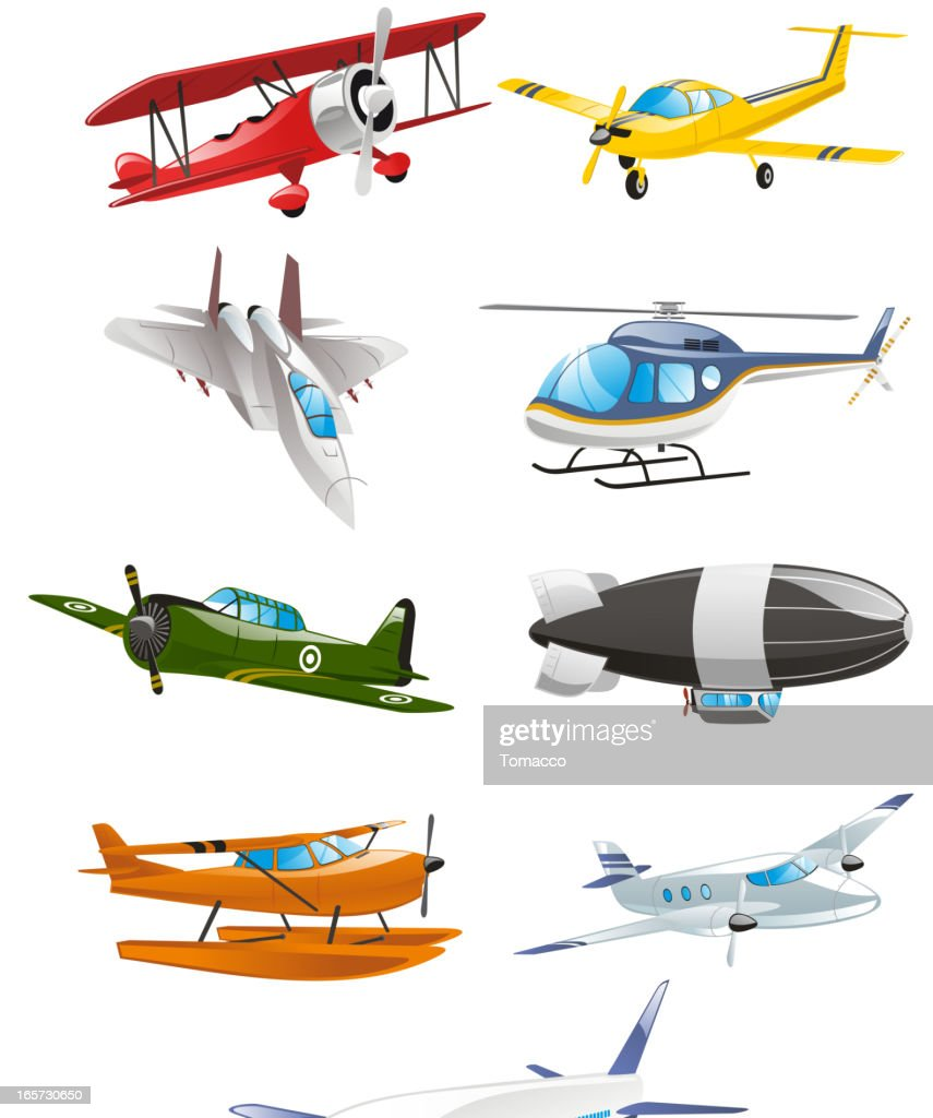 Airplane Aircraft Airbus Airliner Airship Monoplane Biplane Collection