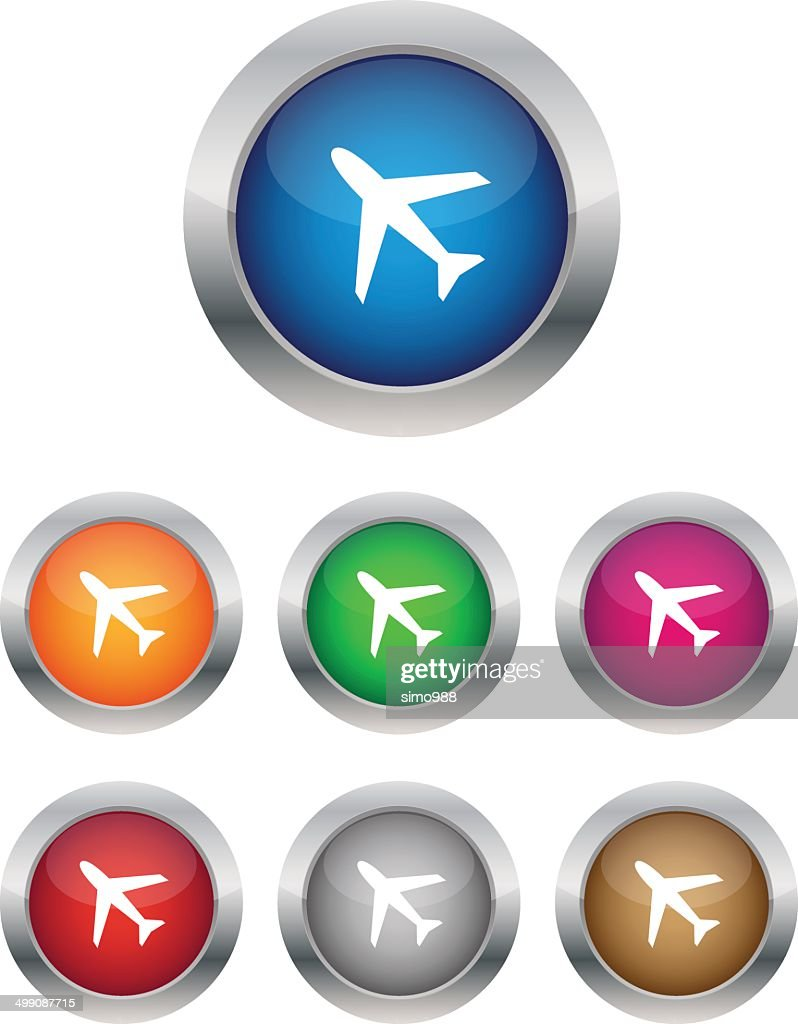 Airplane buttons