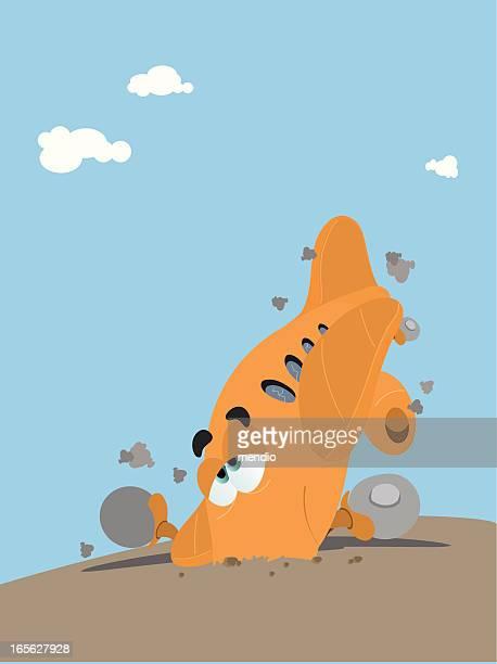 illustrations, cliparts, dessins animés et icônes de catastrophe aérienne - catastrophe aérienne