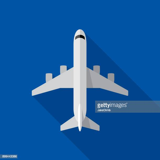 Airplane Icon Flat