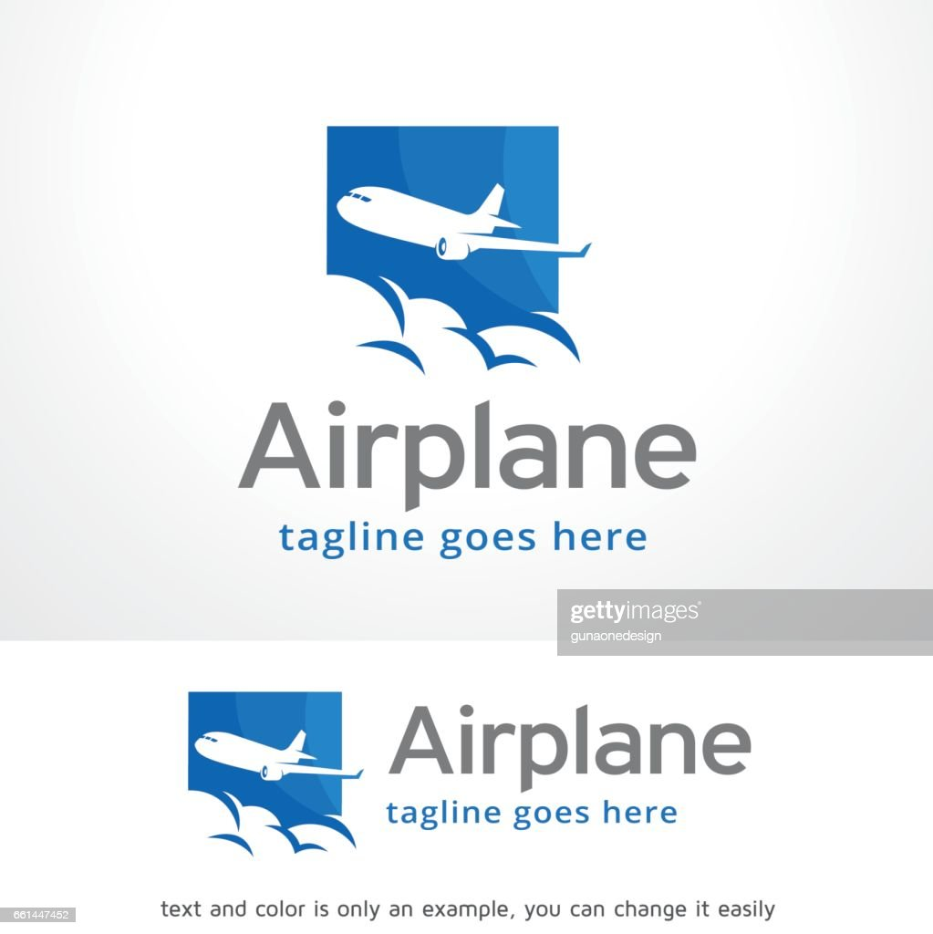 Airplane symbol Template Design Vector, Emblem, Design Concept, Creative Symbol, Icon