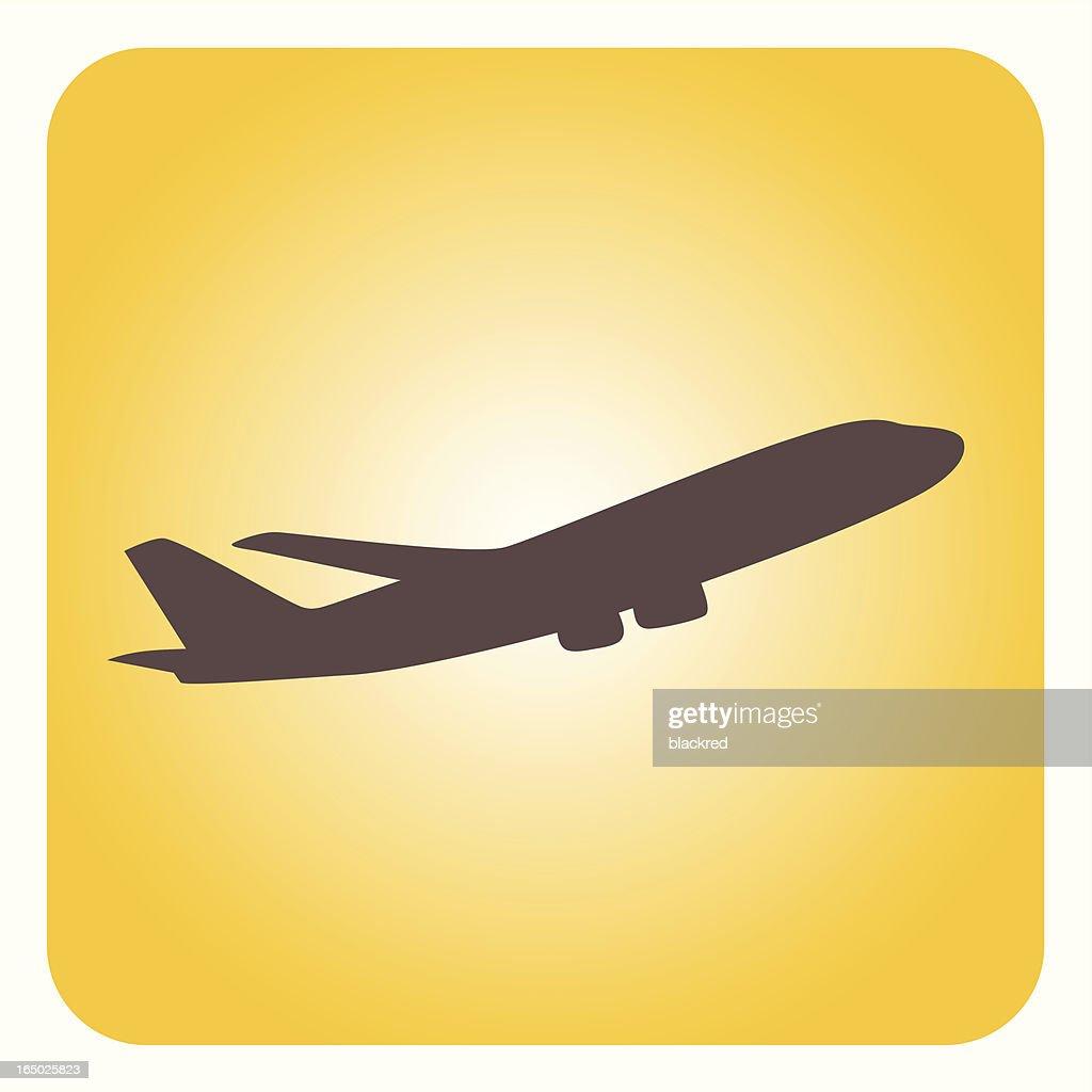 Airplane : stock illustration
