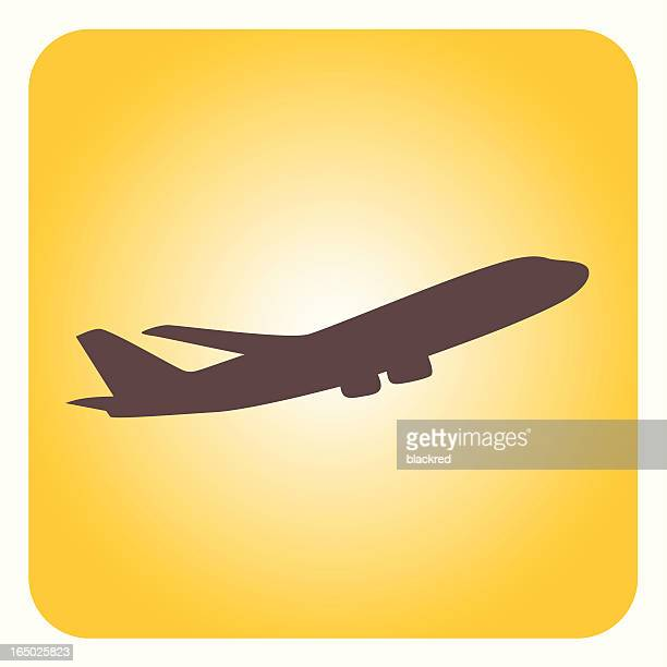 airplane - aeroplane stock illustrations