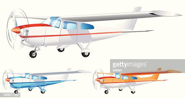 airplane - propeller stock illustrations