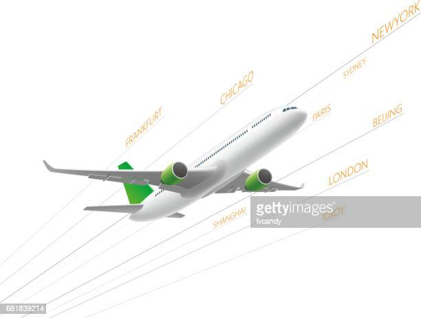 airplane - airport terminal stock illustrations, clip art, cartoons, & icons