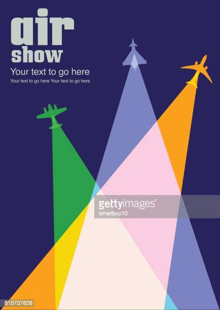 Avions \ Airshow affiche