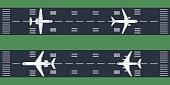 airplanes at runway