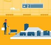 Airport conveyor belt