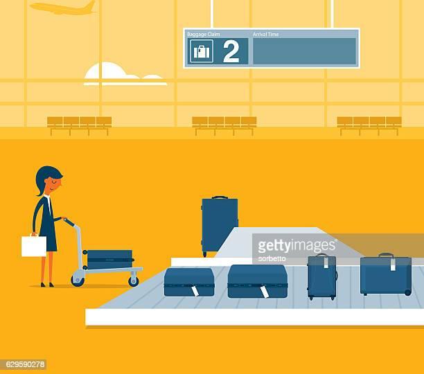 Aéroport de Convoyeur