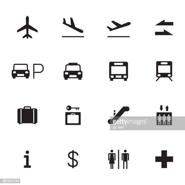 Airport flat icon