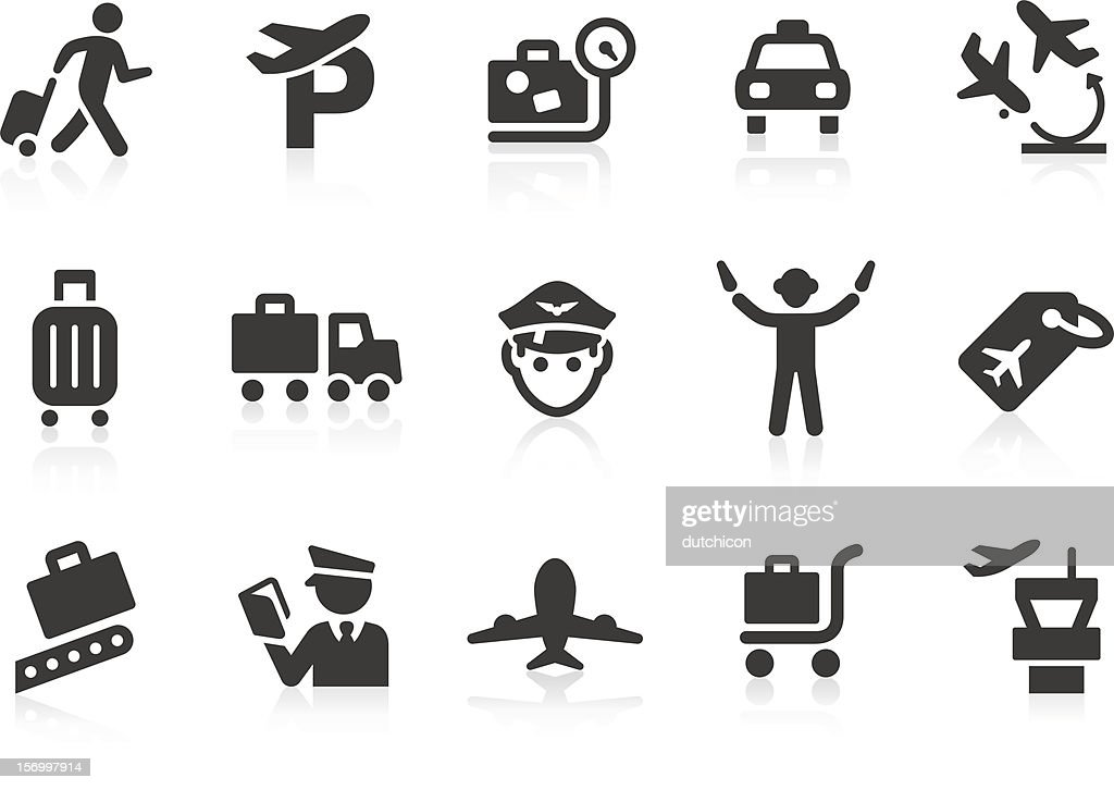 Airport icons 2