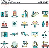 Airport, luggage scanning, flight, rent a car and more