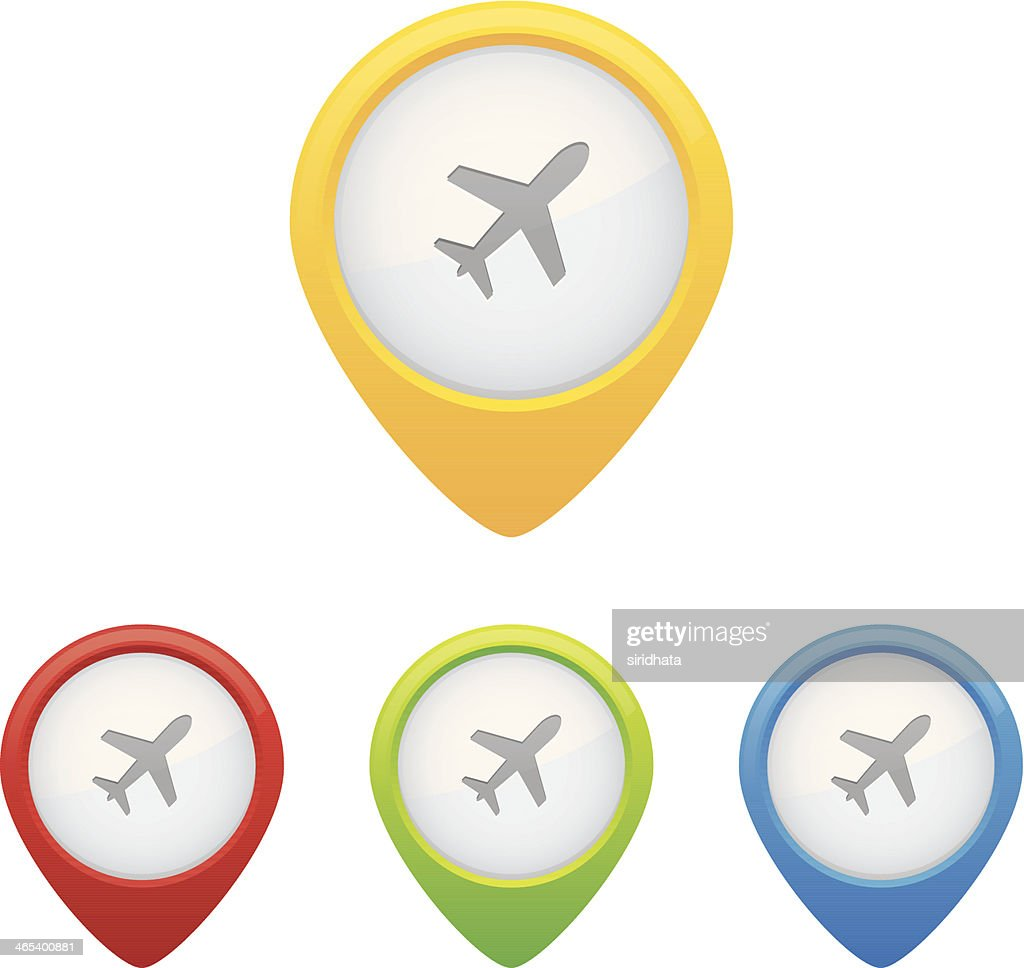 Airport Pins