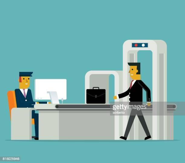 Airport Security - Businessman