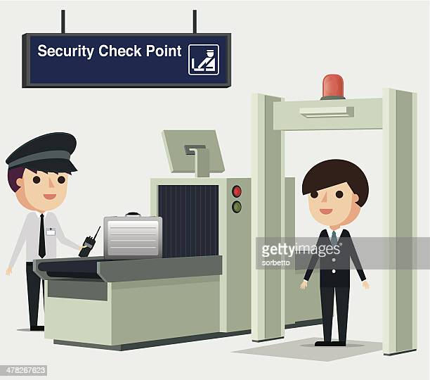 Airport Security - Illustration
