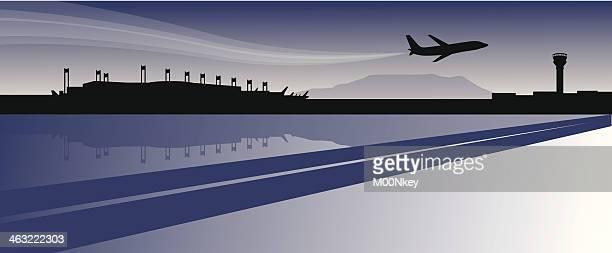 Airport Skyline