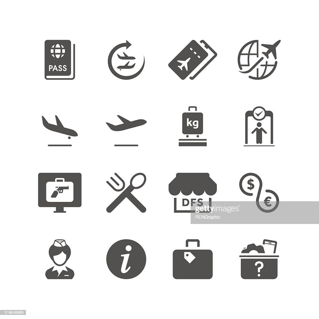 Airport | Unique Series : stock illustration