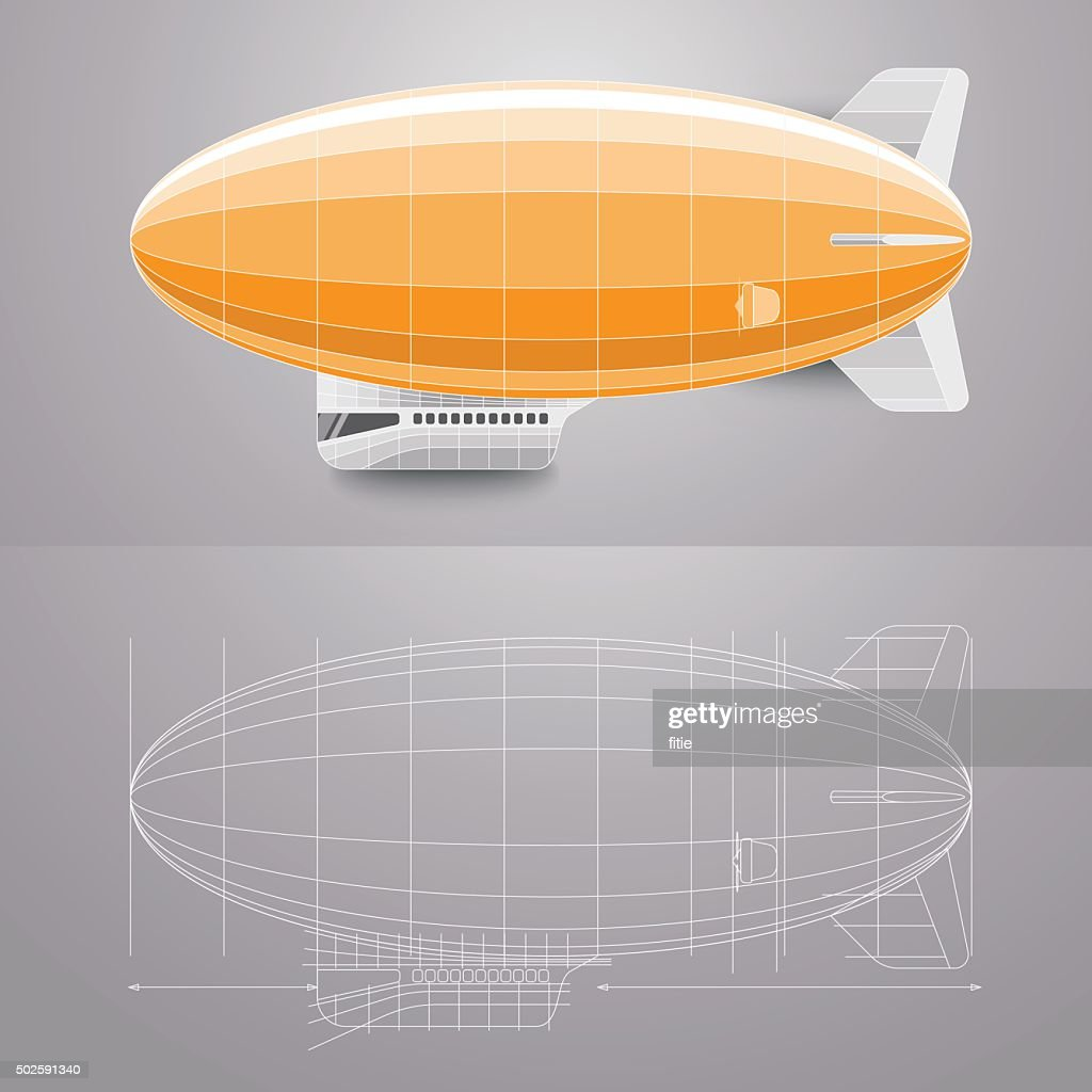 Airship and Blueprint