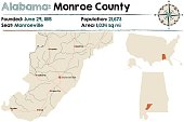 Alabama: Monroe county
