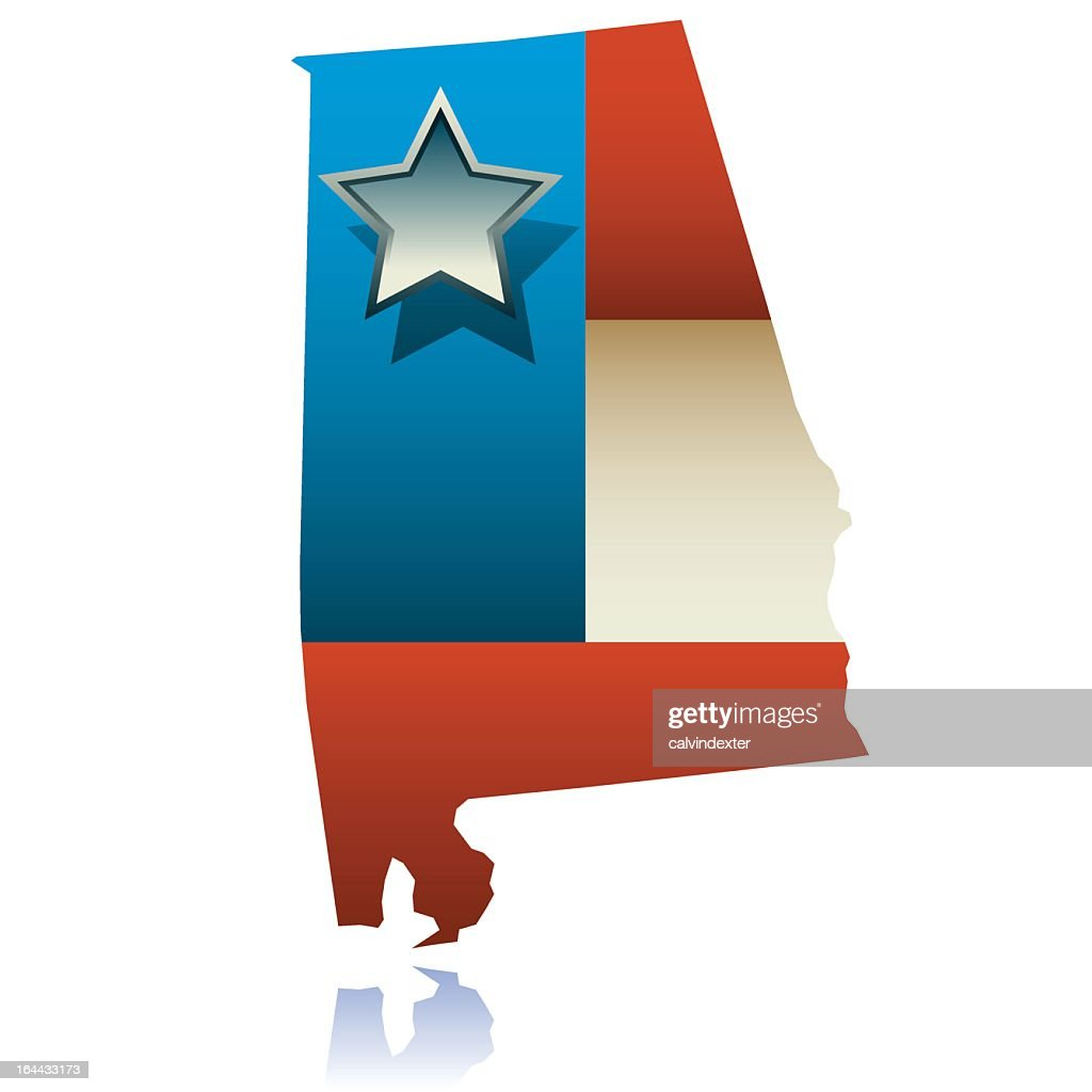Alabama state map