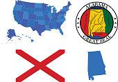 Alabama state set