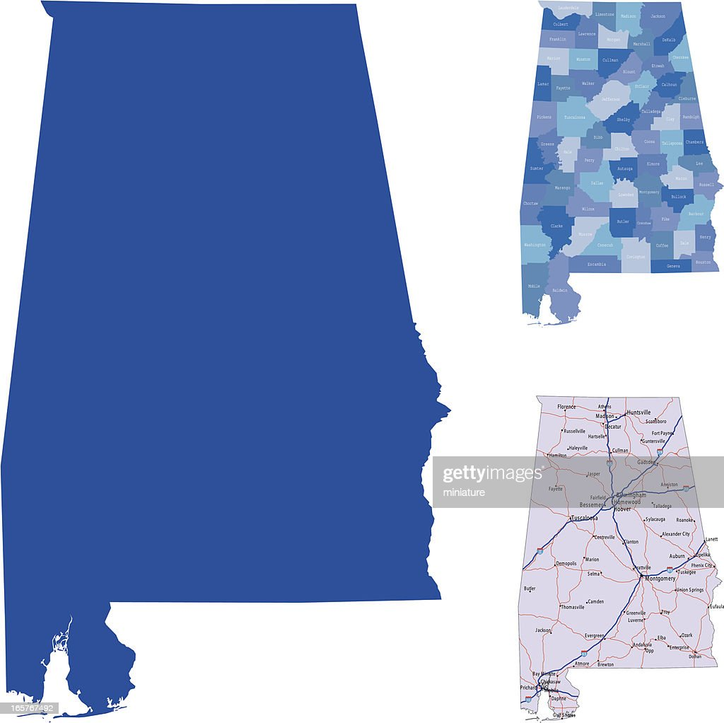 Alabama : stock illustration