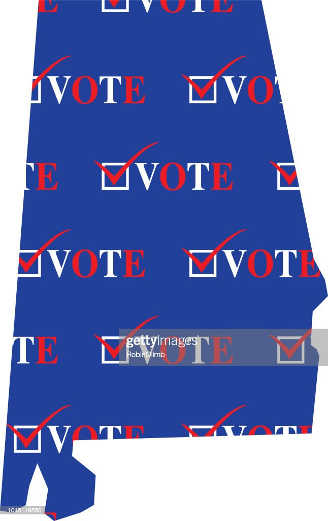 Alabama Vote Map