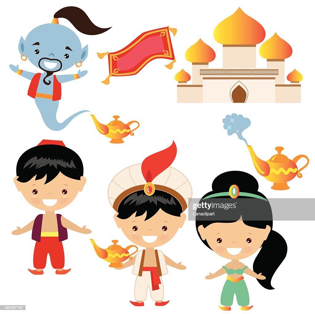 Aladdin vector illustration