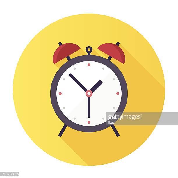 ilustraciones, imágenes clip art, dibujos animados e iconos de stock de reloj despertador - largo longitud