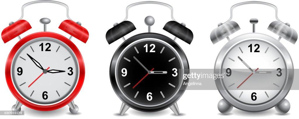 Alarm clocks collection