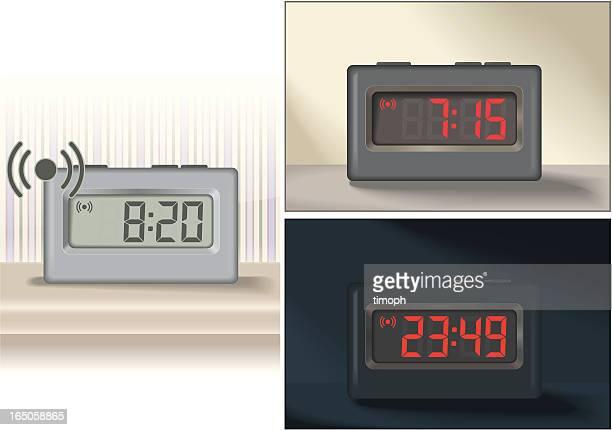 ilustrações de stock, clip art, desenhos animados e ícones de despertadores - acordar