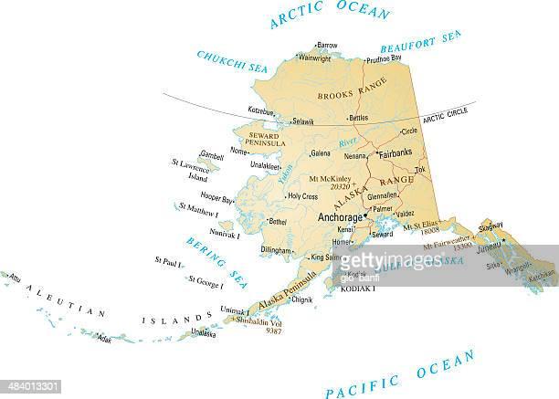 アラスカ - アラスカ点のイラスト素材/クリップアート素材/マンガ素材/アイコン素材
