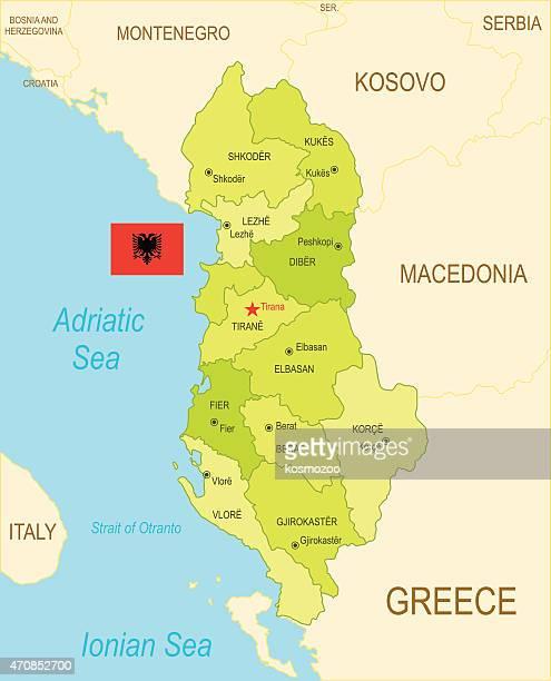 albania - greece v albania stock illustrations