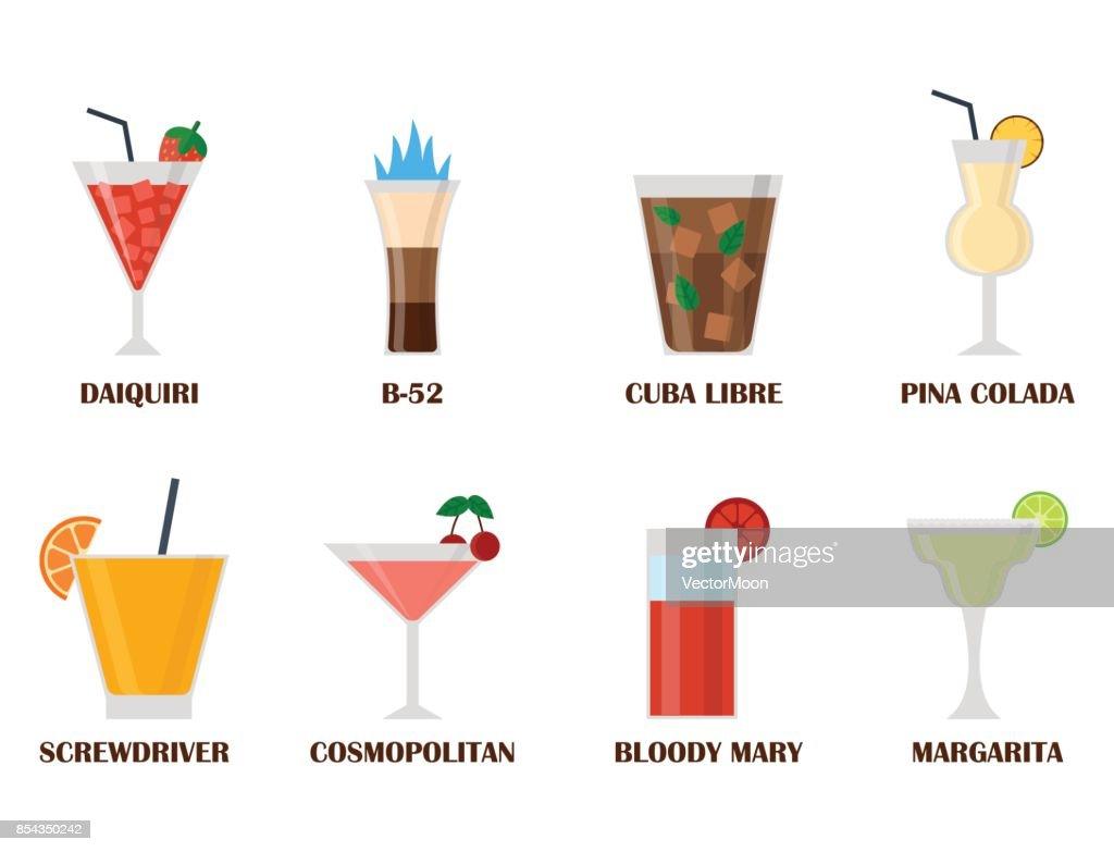 Alkohol Getränke Getränke Cocktail Lager Container Betrunken ...