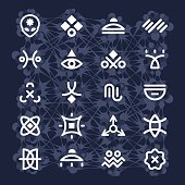 Alien Hieroglyphs