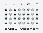 Alien icon.