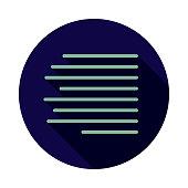 Align Right Typography Icon