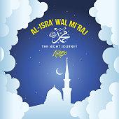 """Al-Isra wal Mi'raj Prophet Muhammad"