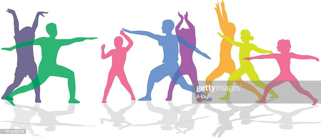 All Abilities Workout Freeform : stock illustration