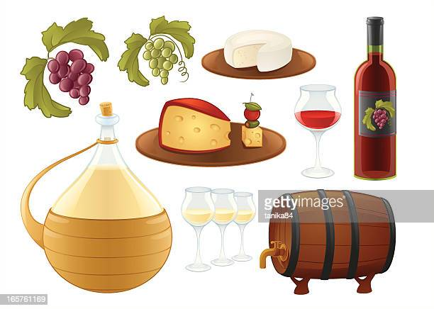all about wine - champagne cork stock illustrations, clip art, cartoons, & icons