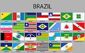 all Flags of states of Brazil.