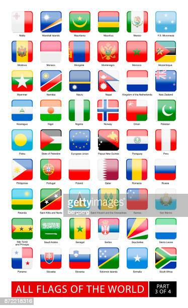 All Flags of The World. Vector Collection