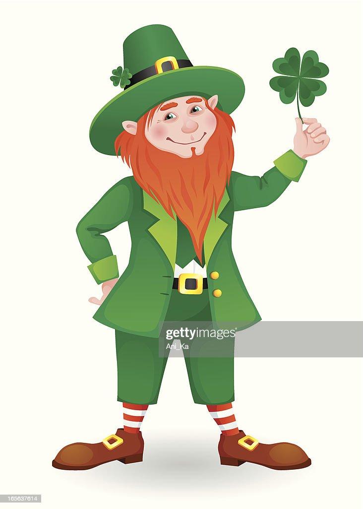 Fighting irish leprechaun vector art getty images keywords altavistaventures Choice Image