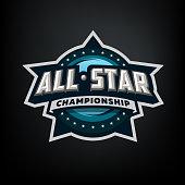All star sports, template symbol design.