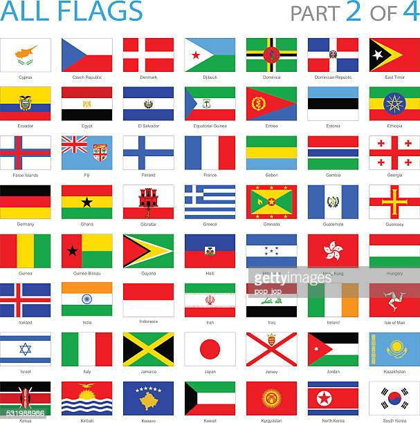 All World Flag Icons - Illustration