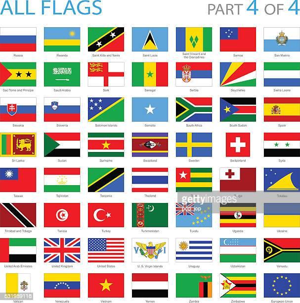 alle welt-flag icons-illustration - ukraine stock-grafiken, -clipart, -cartoons und -symbole